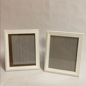 💝Shabby Chic-Style Wooden White Picture Frames